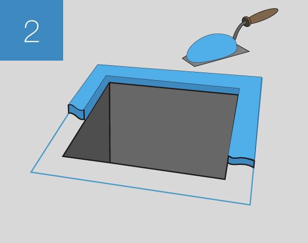 Установка напольного люка Инспектор - шаг 2